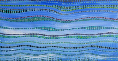 Life Weaving Series (Blue)