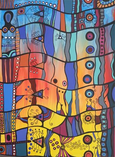 Matrilineal Landscape by Browyn Bancroft