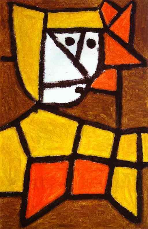 Woman in Peasant Dress by Paul Klee 1940
