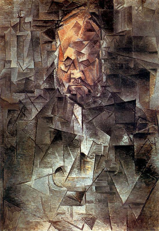 Portrait de Ambroise Vollard by Pablo Picasso 1910