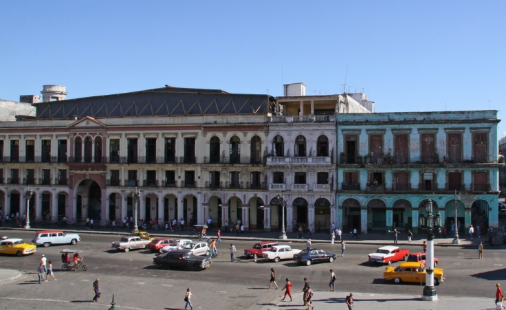 View from the Cuban Capital Building