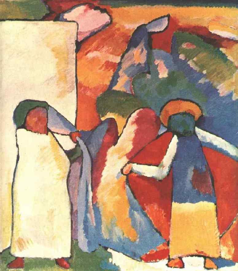 Improvisation 6 (African) by Wassily Kandinsky 1909