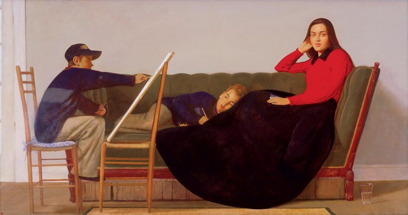 The Art of Drawing by Bo Bartlett