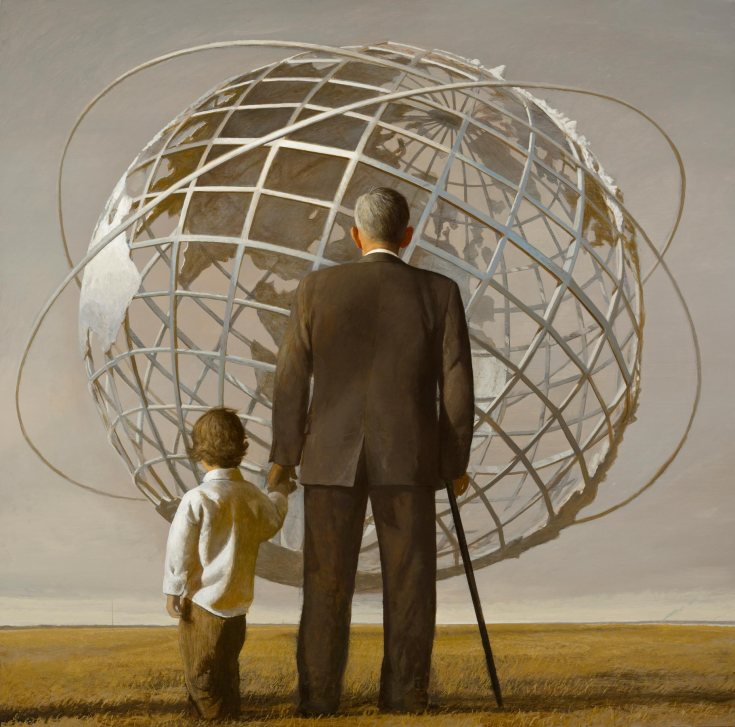 Kingdom of Ends - Painting by Bo Bartlett (2009)