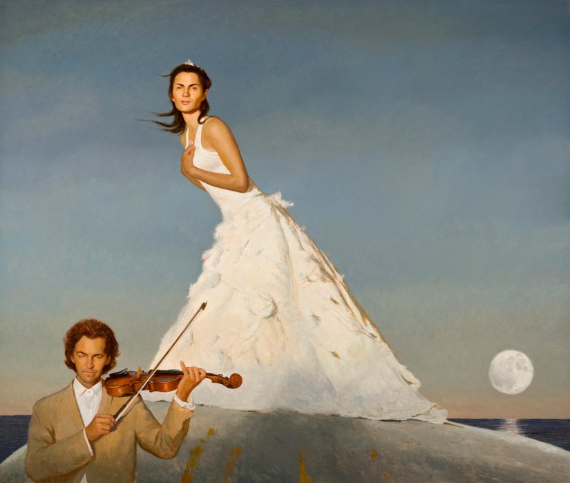 The Triumph of Romance by Bo Bartlett