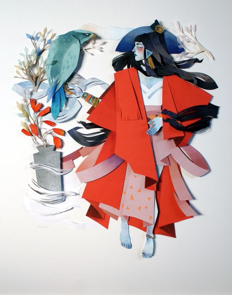 paper art Morgana Wallace3