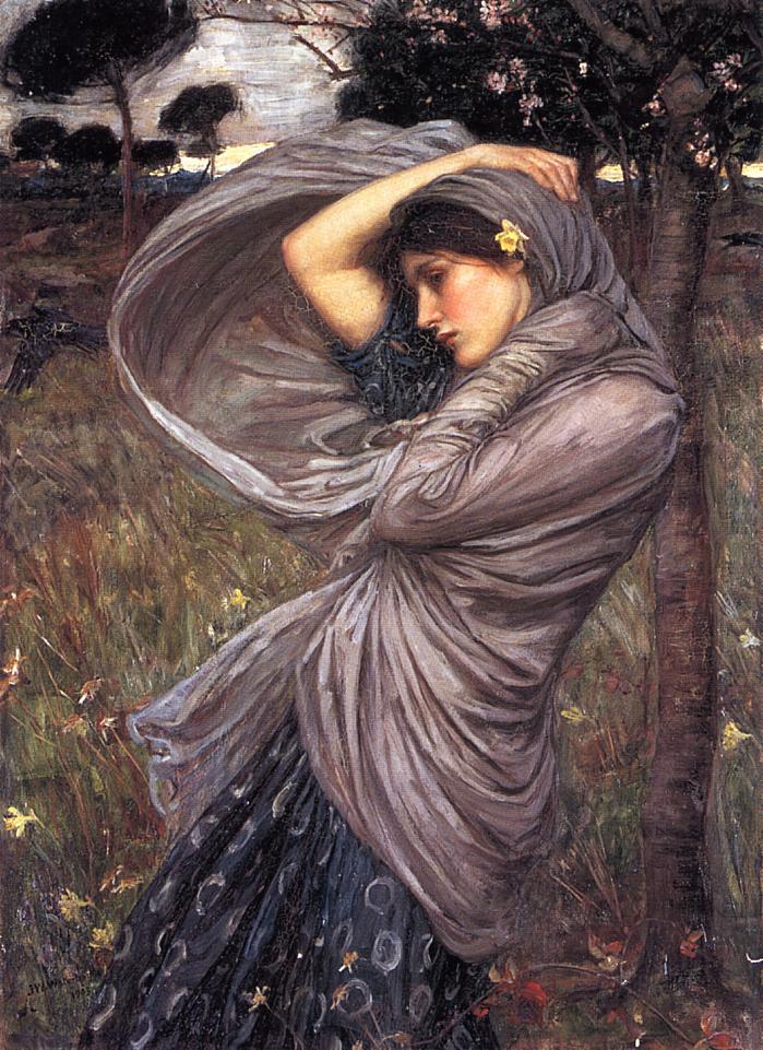 Boreas - John William Waterhouse - 1903