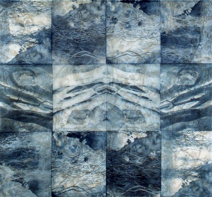 Ocean Blue/Ultramarine Blue by Beth Ganz