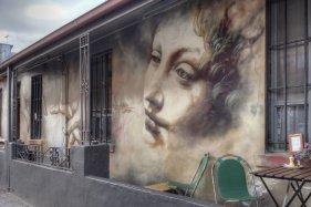 Street Art by Adnate -Fitzroy Melbourne Victoria Australia