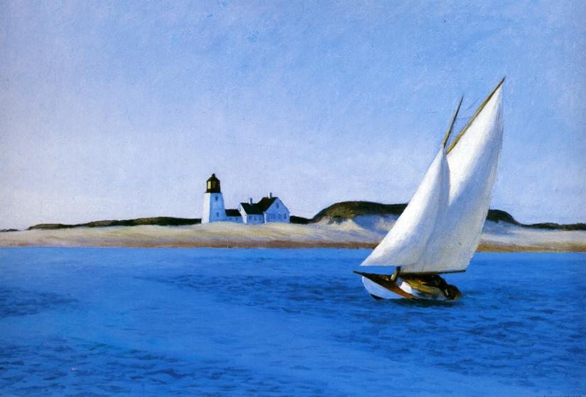 The Long Leg - Edward Hopper 1930