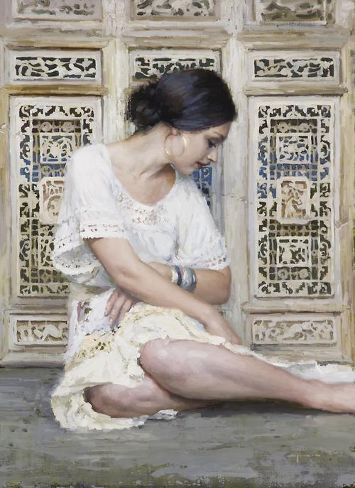 Untitled (Grace) by Jeremy Mann