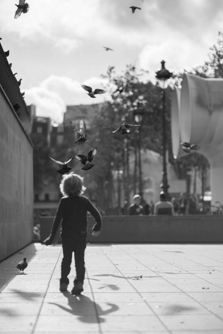 Street Photography - Paris, France by Zhu Xi