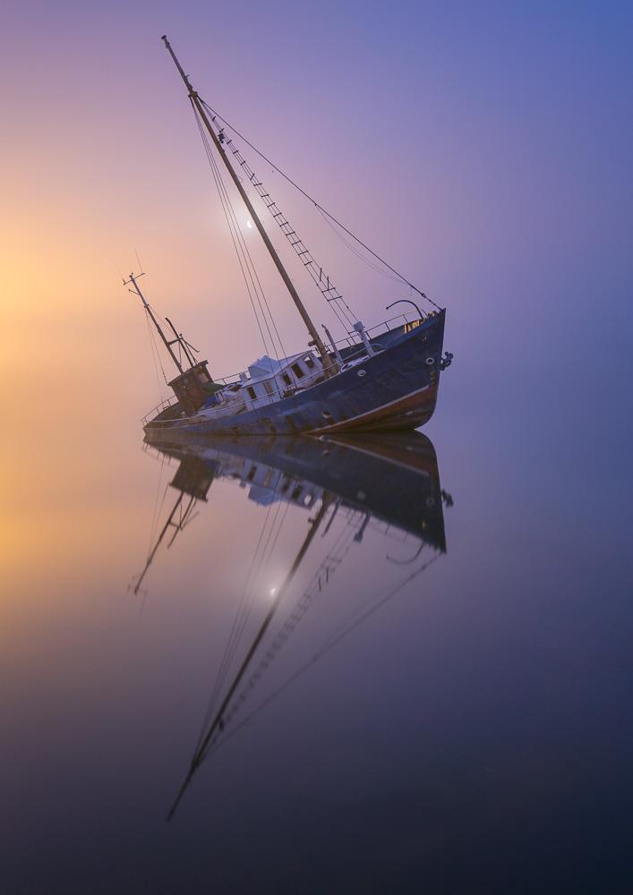 Evening Mist by Mikko Lagerstedt