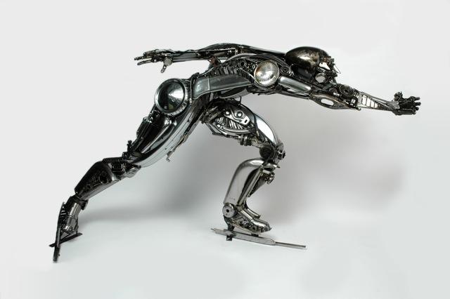 Sculpture by James Corbett