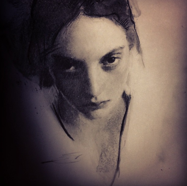 Charcoal by Casey Baugh