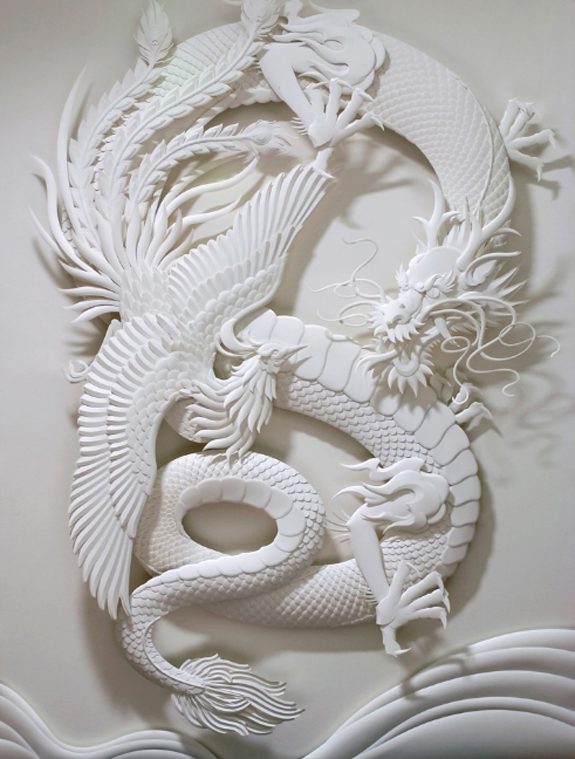 Paper Sculpture by Jeff Nishinaka