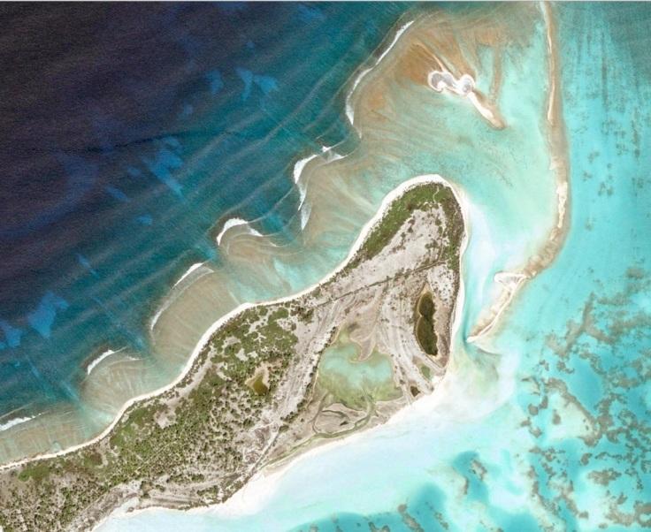 Screen Shot from Google Maps - Kiribati