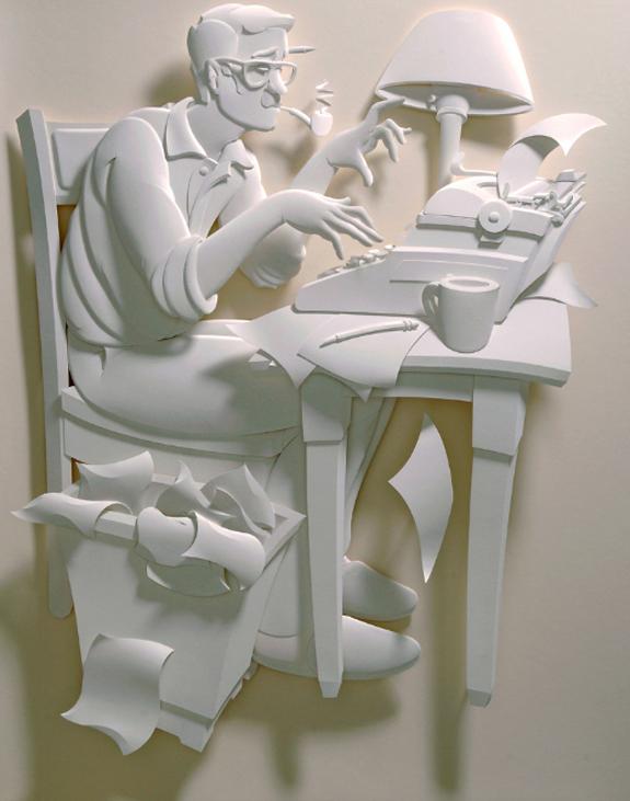 Paper Sculpture by Jeff Nishinaka