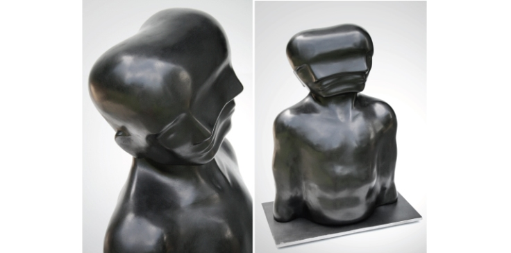 Shift - Sculpture by Emil Alzamora