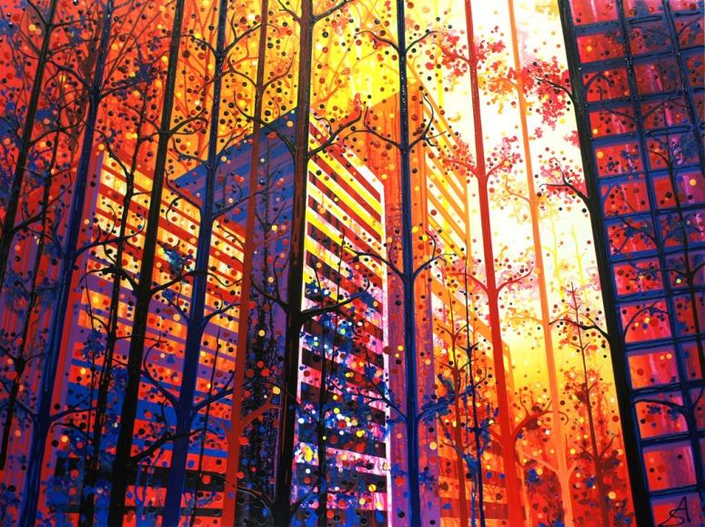 Through the Trees (Toronto + California) by Amy Shackleton