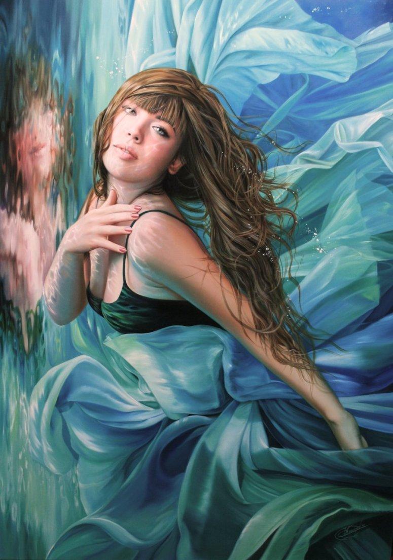 Blue Lagoon by Christiane Vleugels