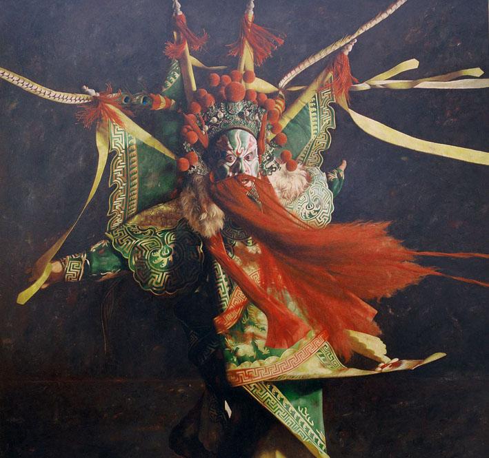 Painting by Lu Jian Jun