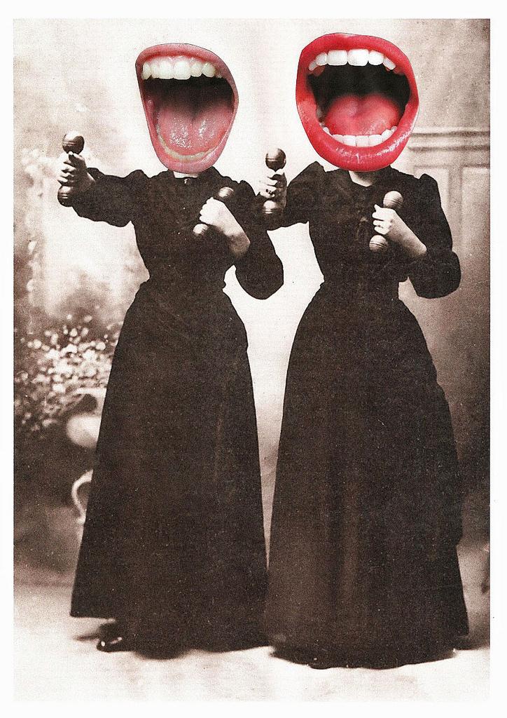untitled collage found on the blog of Lynn Skordal