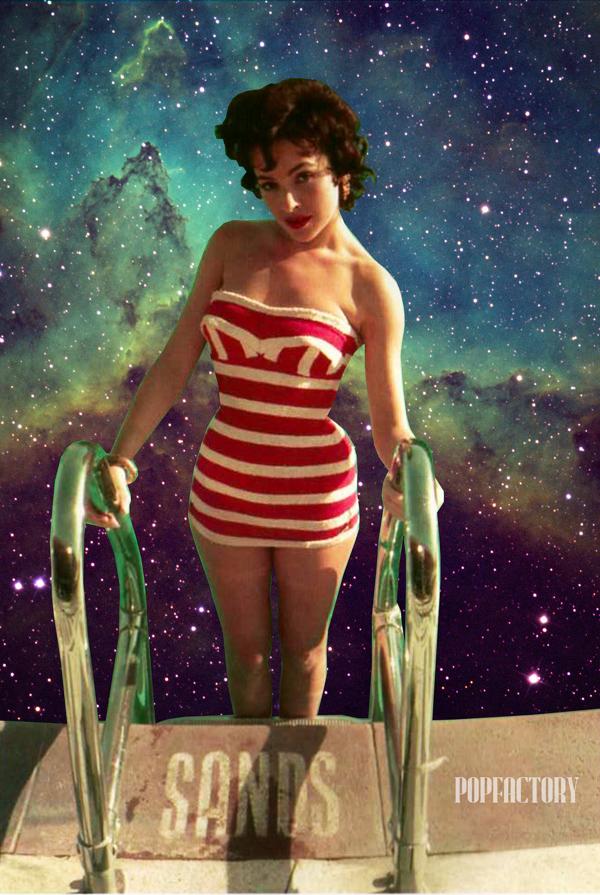 "Swimfinity – Art by Tiziano Demuro ""POPFACTORY"""