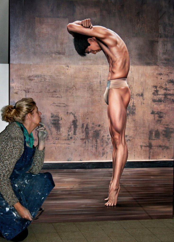 Balance (with artist) by Christian Vleugel
