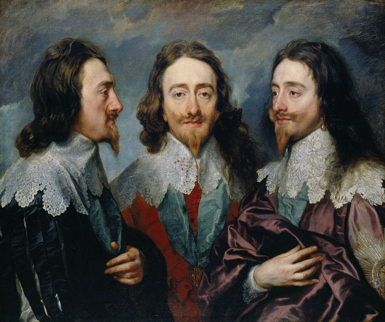 Anthony van Dyck, Charles I in Three Positions, 1635-1636,
