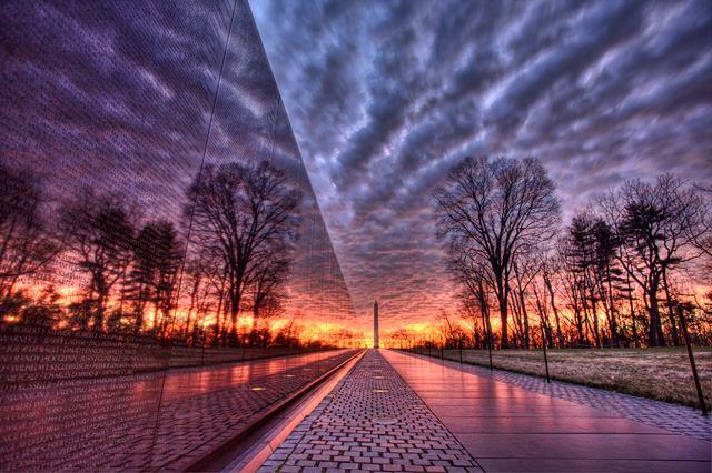 Vietnam Memorial - Designed by Maya Lin.  Completed 1982