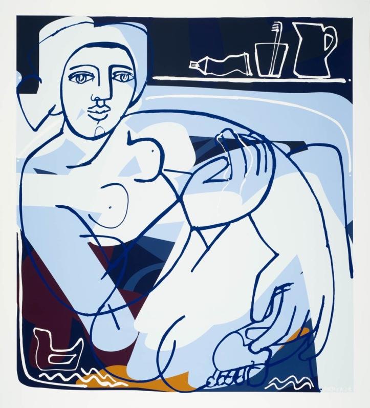 Evening Bath by America Martin