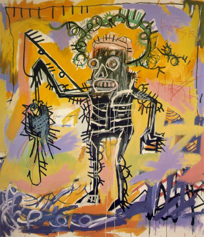 Fishing -  Jean-Michel Basquiat