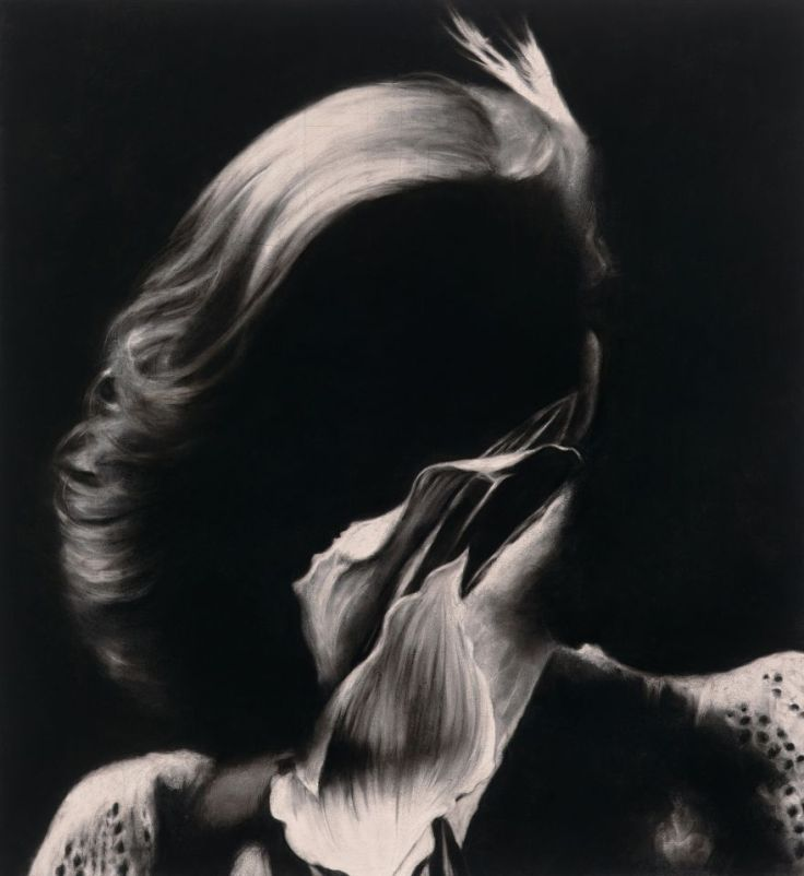 Charcoal on paper by Heidi Yardley