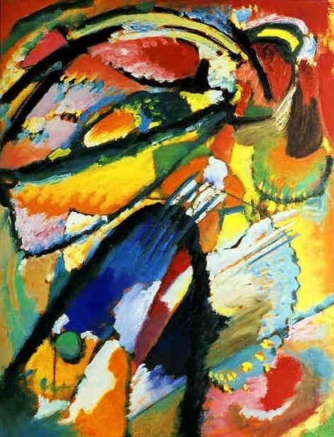 An Angel of the Last Judgement - Wassily Kandinsky