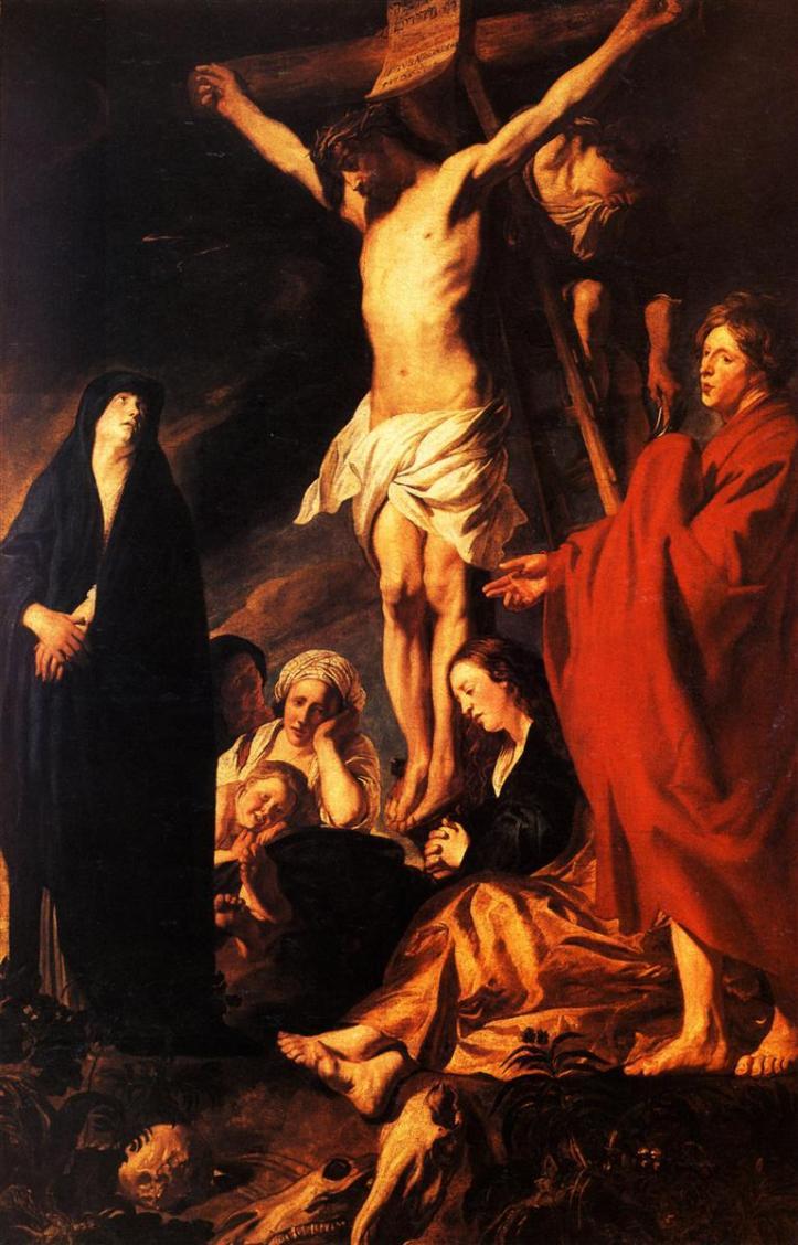 Christ on a Cross (1622) - Jacob Jordaens