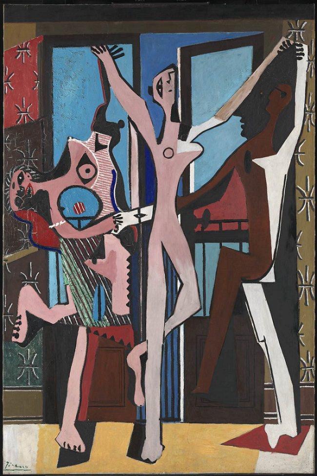 The Three Dancers 1925 Pablo Picasso