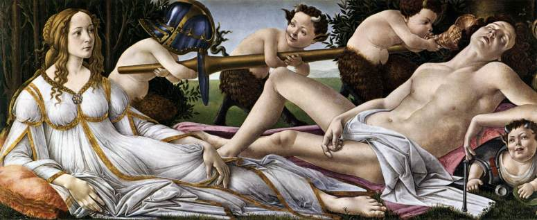 Venus and Mars by Sandro Botticelli