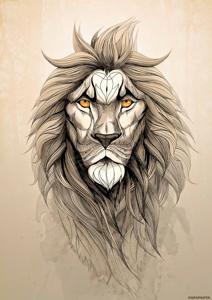 The Lion by Rafapasta