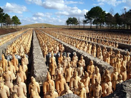 Forbidden Gardens - Chinese Soldiers