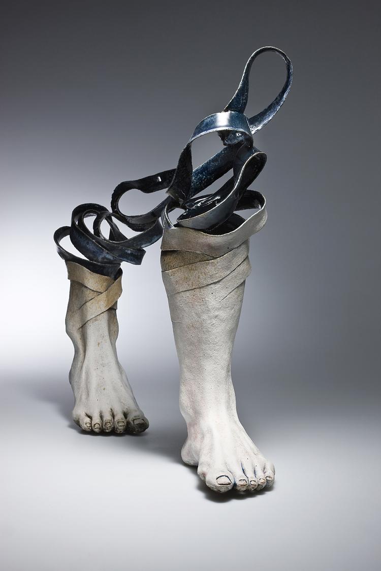 Ceramic Sculpture by Haijin Lee