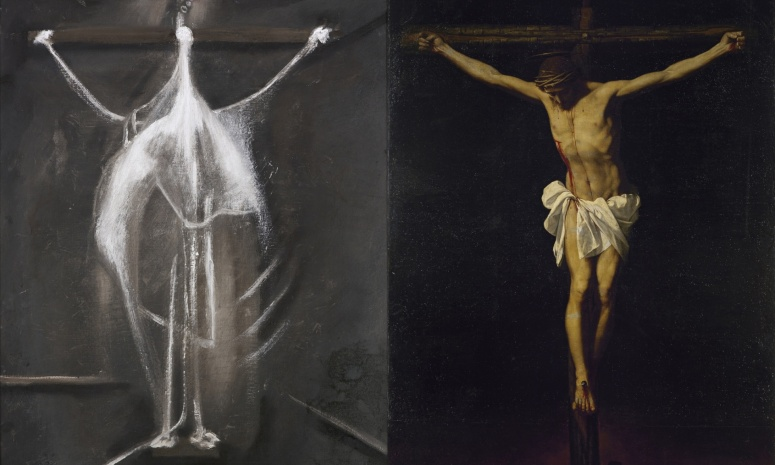 Crucifixion - Francis Bacon/ Alanso Cano