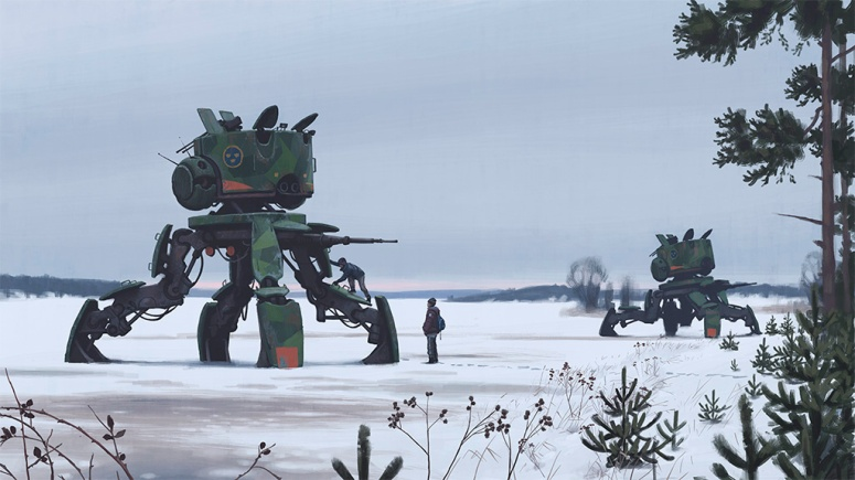 January 1995 - Simon Stalenhag