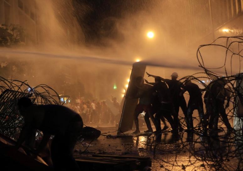 Protests in Lebanon - Photo Credit - Hassan Amar/AP