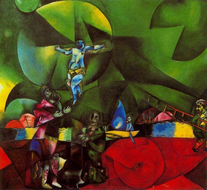 Golgatha - Marc Chagall