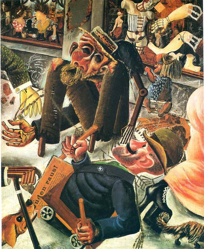 Pragerstrasse - Otto Dix (1920)