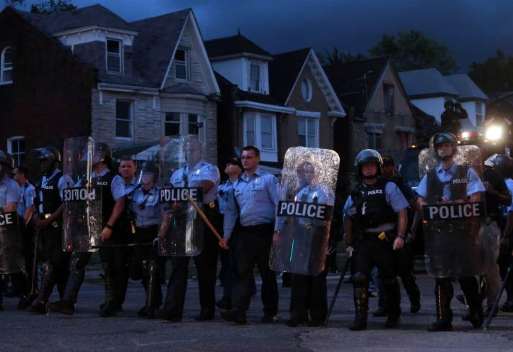 Protests Erupt After St. Louis Officers Fatally Shoot Mansur Ball-Bey Photo credit  Kenny Laurie Skrivan/St. Louis Post-Dispatch via AP