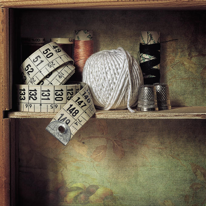 The Sewing Box - Photography by Antonio Díaz