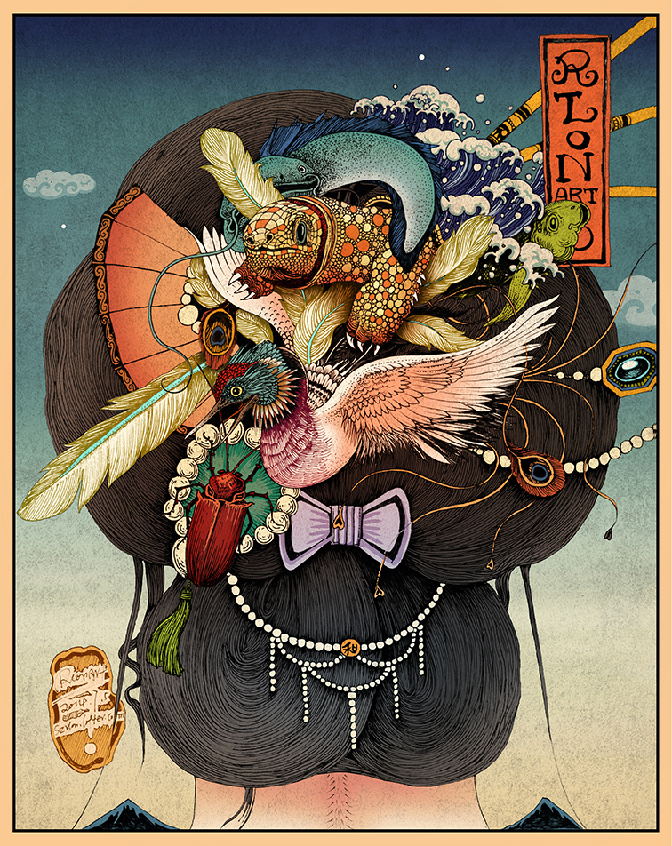 Illustration by Rlong Wang