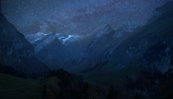 Moonlight photo by Hans Findling